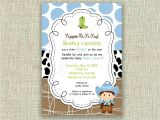 Cowboy Baby Shower Invites Baby Shower Cowboy Invitation Invite Western by Girlsatplay