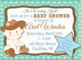 Cowboy Baby Shower Invites Cowboy themed Baby Shower Invitations Party Xyz