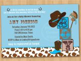 Cowboy Baby Shower Invites theme Cowboy Baby Shower Invitations