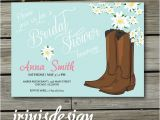Cowboy Boot Bridal Shower Invitations Cowboy Boots Invitation Country Bridal Shower by Irinisdesign