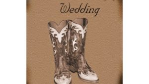 Cowboy Boot Wedding Invitations Western Cowboy Boots Wedding Invitation 5 Quot X 7 Quot Invitation