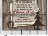 Cowboy Christmas Party Invitations 1000 Images About Cowboy Christmas In July On Pinterest