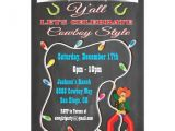 Cowboy Christmas Party Invitations Western Cowboy Christmas Party Invitations Zazzle