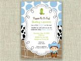 Cowboy themed Baby Shower Invites Baby Shower Cowboy Invitation Invite Western by Girlsatplay