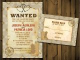Cowboy Wedding Invitations Templates Western Wedding Invitation Templates Cloudinvitation Com