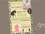 Cowgirl 1st Birthday Invitations Cowgirl Birthday Party Invitation by asyouwishcreations4u