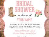 Cowgirl Bridal Shower Invitations Cowgirl Bridal Shower Invitation Lace Bridal Shower Invite