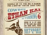 Cowgirl Party Invitation Wording 25 Best Ideas About Cowboy Party Invitations On Pinterest