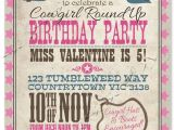 Cowgirl Party Invitation Wording Best 25 Cowgirl Birthday Invitations Ideas that You Will