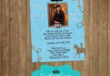 Cowgirl Quinceanera Invitations Blue Western Cowgirl Quinceanera Photo Invitations Sweet