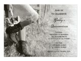 Cowgirl Quinceanera Invitations Cowgirl and Sunflowers Country Quinceanera Invite 5 Quot X 7