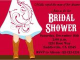 Cowgirl themed Bridal Shower Invitations Cowgirl Boots Wedding Bridal Shower Invitation by