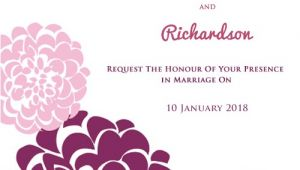 Create A Wedding Invitation Card for Free Create Your Own Wedding Invitations Online for Free