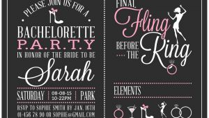 Create Bachelorette Party Invitations Free Free Bachelorette Party Invitations