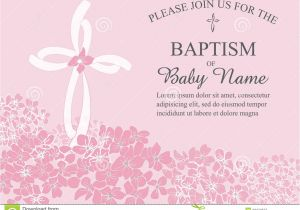 Create Baptism Invitations Online Free Baptismal Invitation Template Baptism Invitation