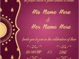 Create Indian Wedding Invitation Card Online Free Create Wedding Invitation Card Online Simplest Creative