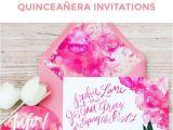 Create Your Own Quinceanera Invitations Diy Watercolor Quinceanera Invitations to Stun Your Guests