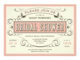 Creative Bridal Shower Invitations Unique Vintage Bridal Shower Invitations Zazzle