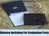Creative Graduation Invitation Ideas Unique Ideas for Graduation Party Invitation How to Make