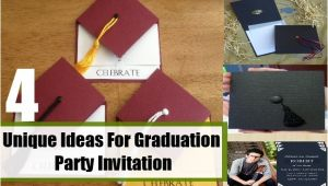 Creative Graduation Party Invitation Ideas Unique Ideas for Graduation Party Invitation How to Make