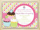 Cupcake Party Invitation Template Free 8 Best Images Of Cupcake Birthday Party Invitation