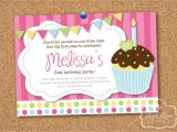 Cupcake Party Invitation Template Free Cupcake Birthday Invitations Gangcraft Net