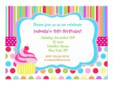 Cupcake Party Invitation Template Free Rainbow Cupcake Birthday Party Invitations 5 Quot X 7