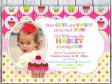 Cupcake Party Invitation Wording Cupcake Birthday Invitations Template Best Template