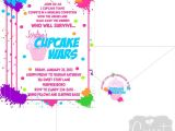 Cupcake Wars Birthday Party Invitations Cupcake Party Birthday Party Ideas Photo 1 Of 34 Catch