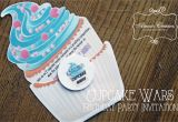 Cupcake Wars Birthday Party Invitations Cupcake Wars Birthday Party Diy Home Decor and Crafts