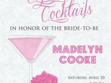 Cupcakes and Cocktails Bridal Shower Invitations Cupcakes and Cocktails Invitation Cupcakes and Cocktails