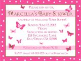 Custom Baby Shower Invitations Online 20 Personalized Baby Shower Invitations Pink butterfly