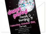 Custom Disco Party Invitations Handmade Spark Little Celebrations Customized and
