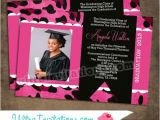 Custom Graduation Invites Custom Graduation Announcements Craftbnb