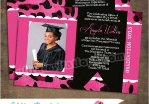 Custom Graduation Invites Custom Graduation Announcements Craftbnb