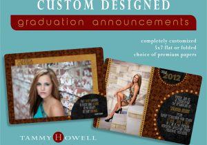 Custom Graduation Invites Custom Graduation Announcements Tammy Howell Photography