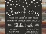 Custom Graduation Invites Graduation Party Invitation Custom Color Graduation Open