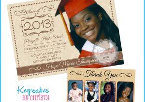 Custom Graduation Invites Personalized Graduation Invitations Invitation Librarry