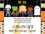 Custom Halloween Birthday Invitations Custom Personalized Halloween Birthday Party by