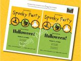 Custom Halloween Birthday Invitations Custom Spooky Halloween Party Invitations by Sassy Party
