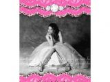Custom Made Quinceanera Invitations Lace Invitations and Sweet On Pinterest