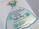 Custom Made Quinceanera Invitations Quinceanera Custom Party Invitations by Sweetnsassyinvites