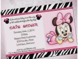 Custom Minnie Mouse Baby Shower Invitations Baby Shower Invitation Lovely Custom Minnie Mouse Baby