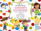 Custom Party Invitations with Photo Birthday Invitation Card Custom Birthday Party