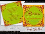 Custom Party Invitations with Photo Funky Lace Owl Adult Birthday Party Invitations
