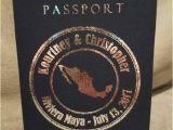 Custom Passport Wedding Invitations Custom Passport Invitations Wedding Birthday by