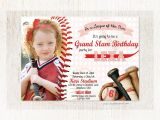 Custom softball Birthday Invitations League Of Her Own Invitation Girls Baseball or softball