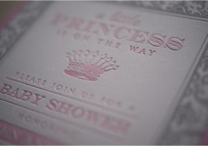 Customizable Baby Shower Invites Custom Baby Shower Invitations Letterpress Personal
