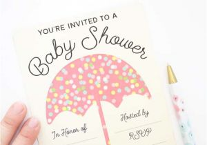 Customizable Baby Shower Invites Customizable Baby Shower Invites Tried True