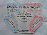 Customizable Baby Shower Invites Unique Personalized Baby Shower Diaper Invitations Twins